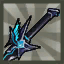 Blue Lava Demon Blade