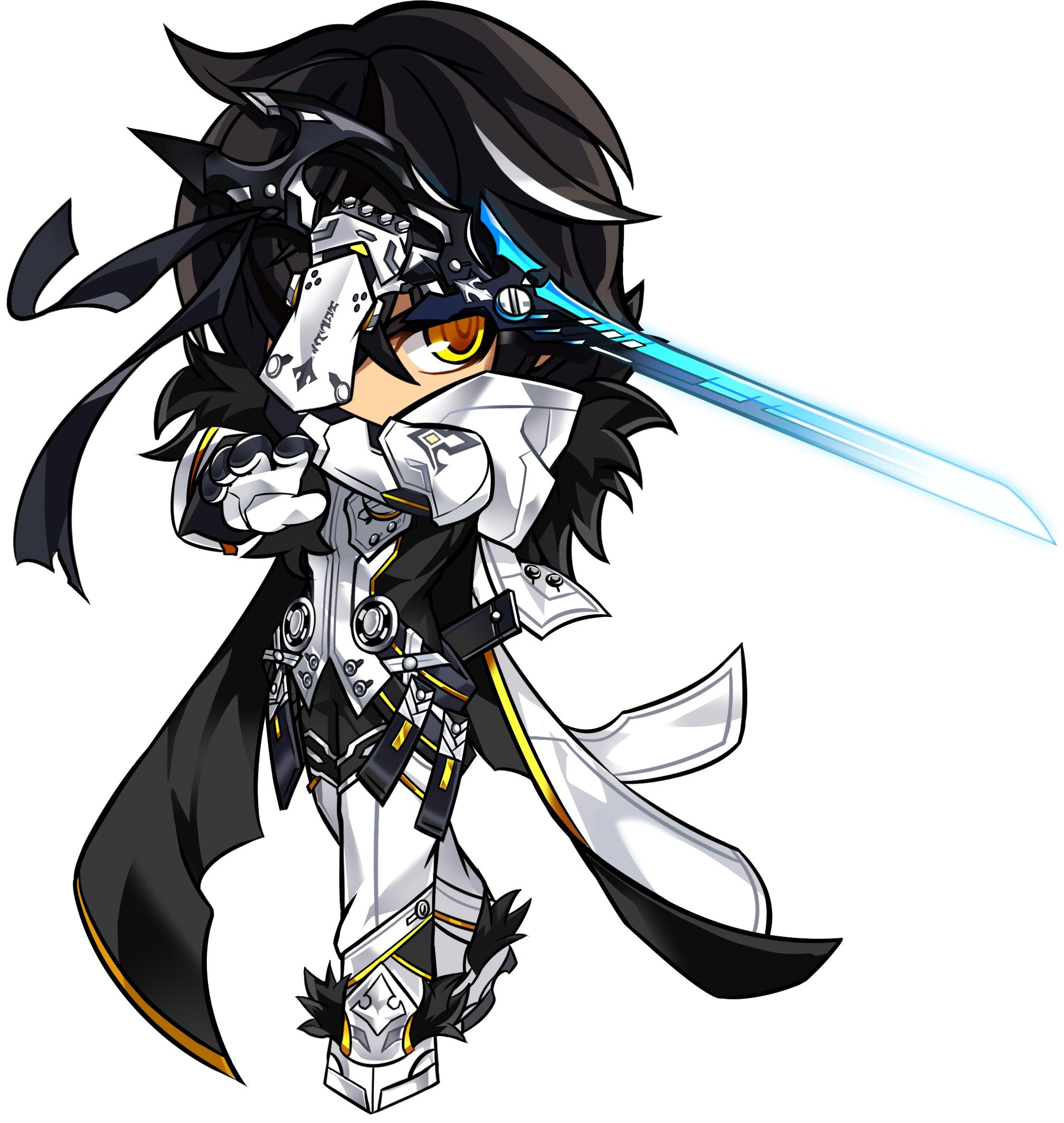 Furious Blade Chibi Elsword, Arte de anime, Arte