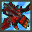 Red Lava Demon Dual Weapon