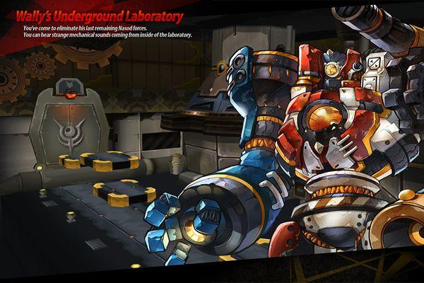 Wally's Underground Laboratory - ElWiki